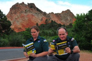 Site Admins take a break learning at Garden of the Gods park