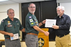 Venturing Crew Advisor of the Year - Bob Hyman
